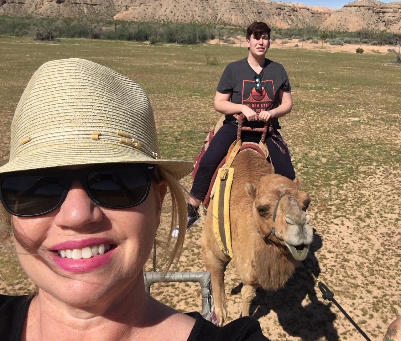 Camel Safari Selfie
