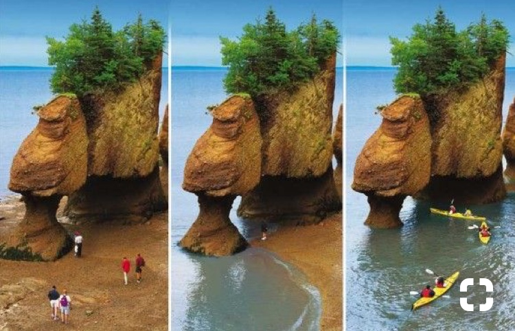Hopewell Rocks, N.B.