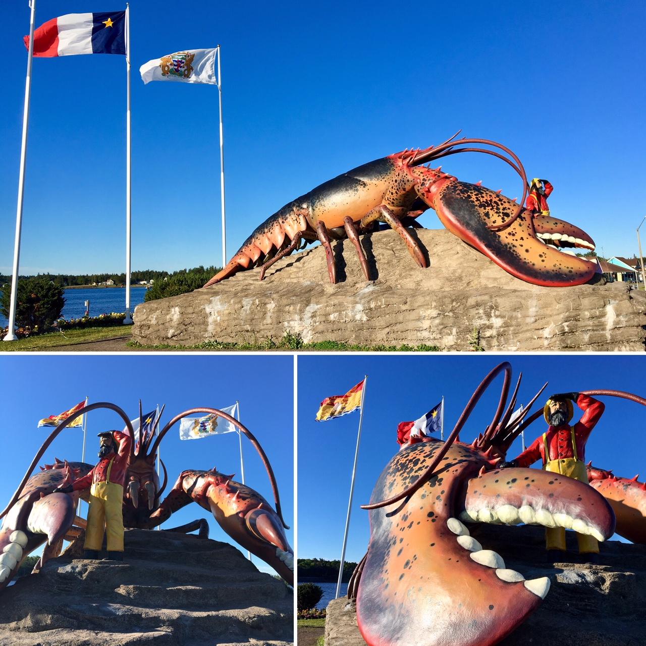 Lobster in Shediac, N.B.