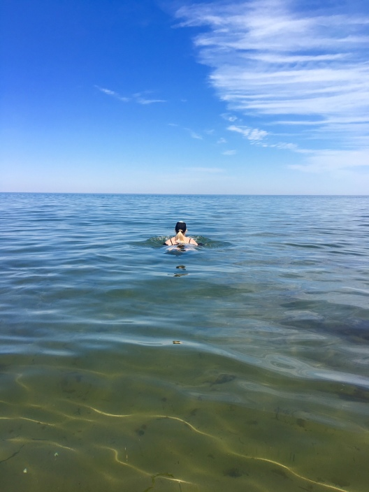 N.B. where the water is warm