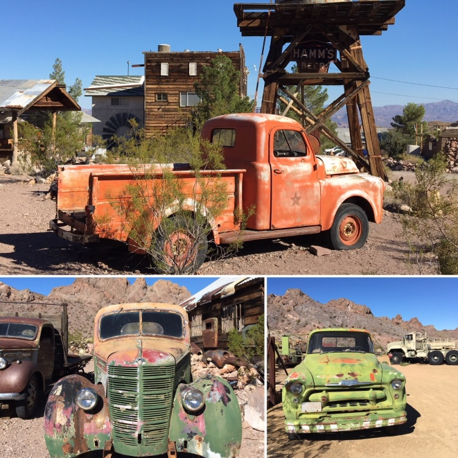 Nevada's Ghost Towns, vintage cars