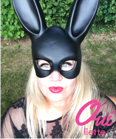 Halloween Bunny Selfie