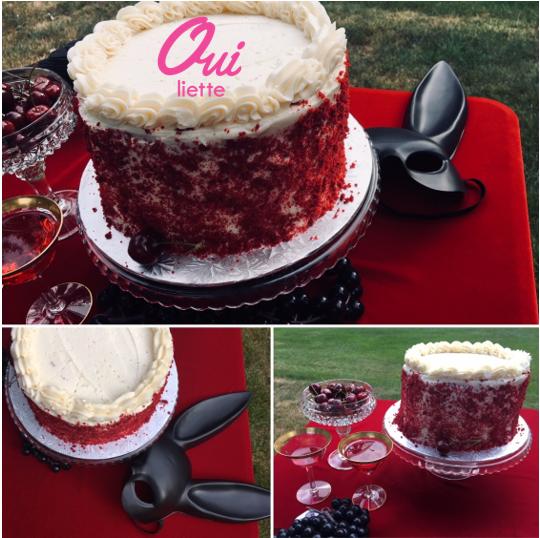 Red Velvet Cake Top