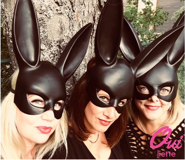 Three Halloween Bunnies