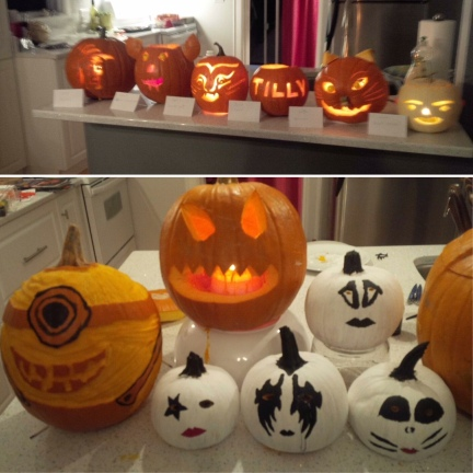 Kiss Pumpkins