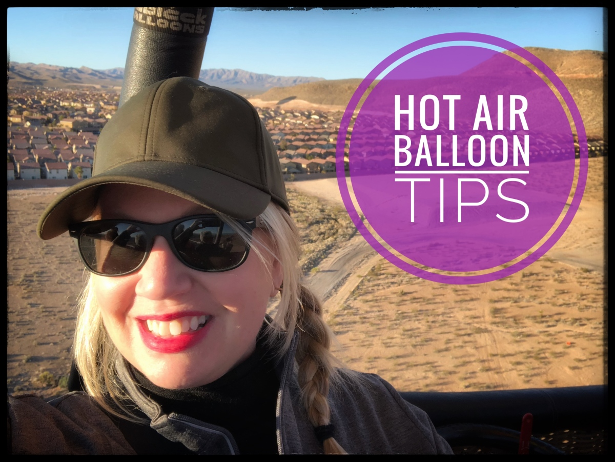 Hot Air Balloon Tips