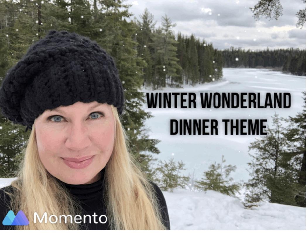 Winter Wonderland Dinner; The Perfect HolidayTheme!