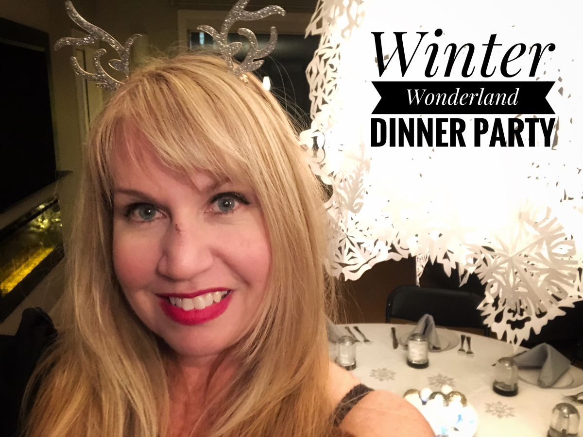 A Winter Wonderland Dinner Party