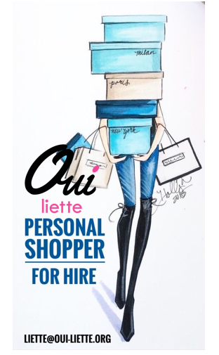 Oui! I can be your personal shopper for hire!