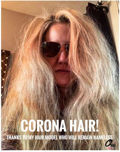 Corona Hair PSA
