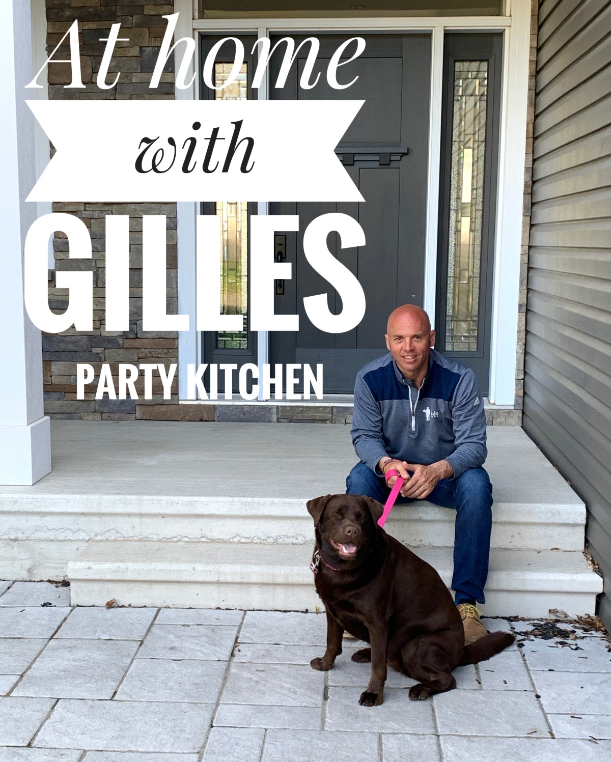 At Home With…Gilles and Kenda; not together, in their separate respective kitchens.