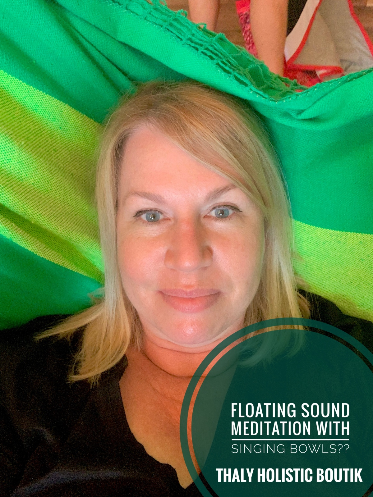 Floating Sound Meditation with Singing Bowls…say what??